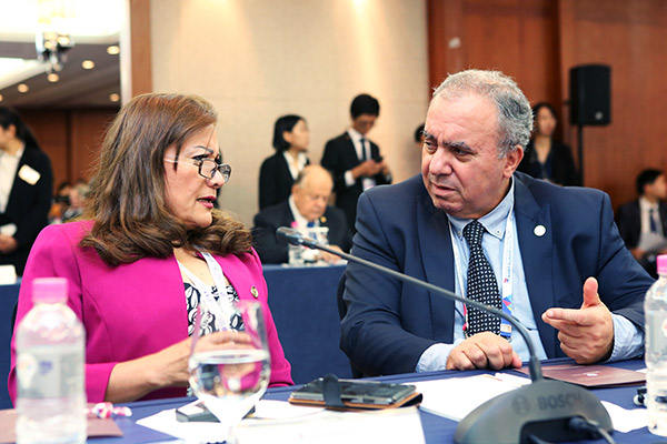 The 5th HWPL International Law Peace Committee Mee