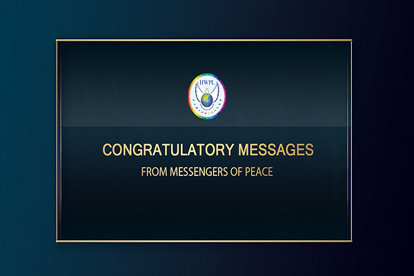 Congratulatory Messages From All Around the World