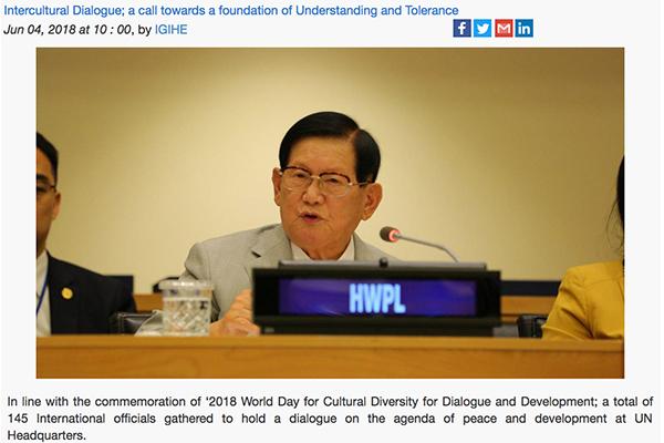 Intercultural Dialogue; a call towards a foundatio