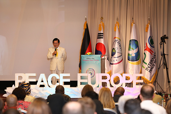 Pan-European Peace Forum Advocates European Leader