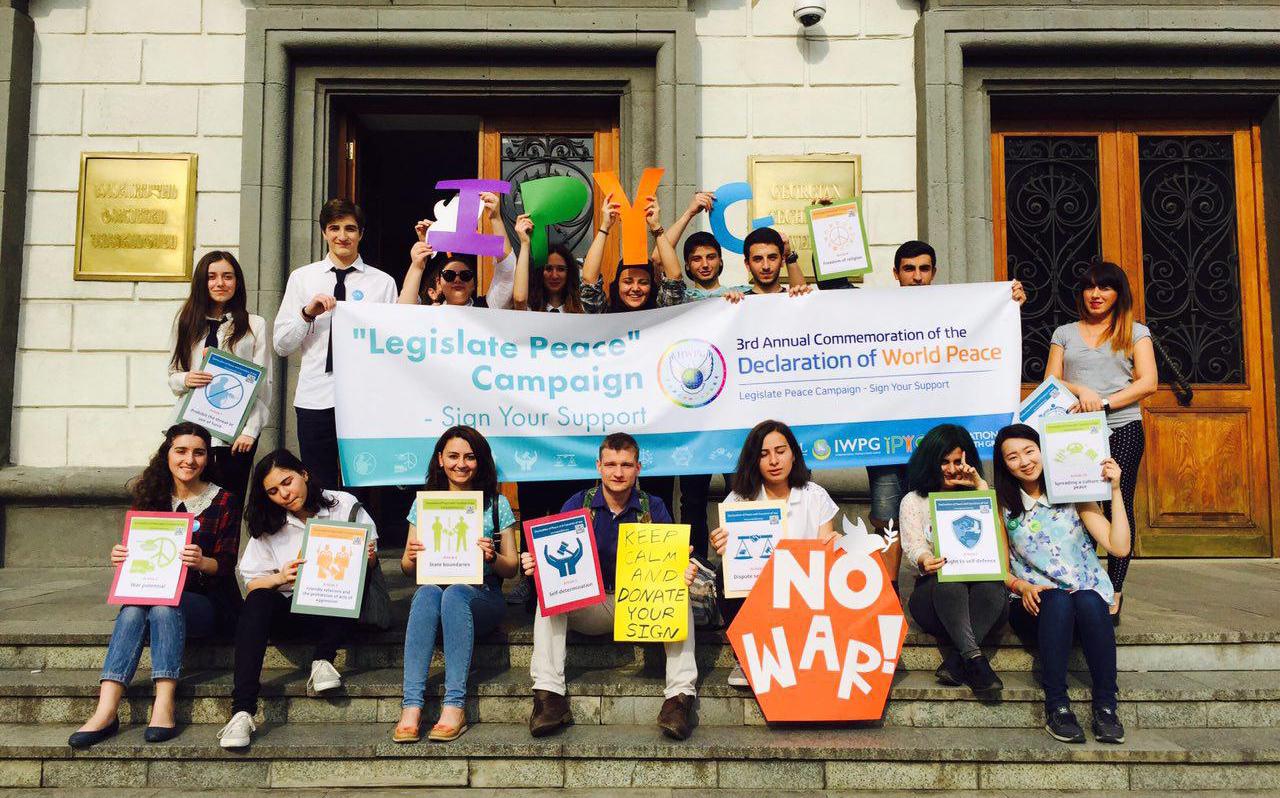 Legislate Peace Campaign